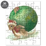 Christmas Mouse Puzzle