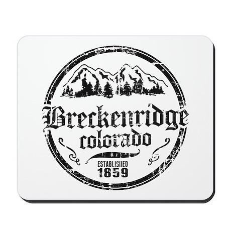 Breckenridge Distressed Circle Mousepad