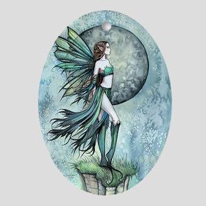 Fearless Fairy Ornament (Oval)