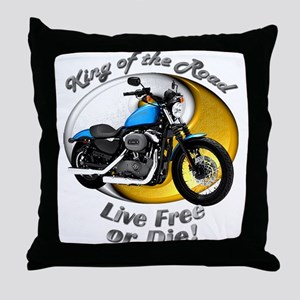 HD Nightster Throw Pillow