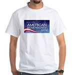 Restore American Sovereignty White T-Shirt