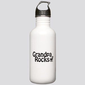 Grandpa Rocks Stainless Water Bottle 1.0L