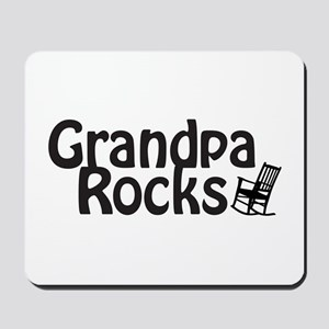 Grandpa Rocks Mousepad