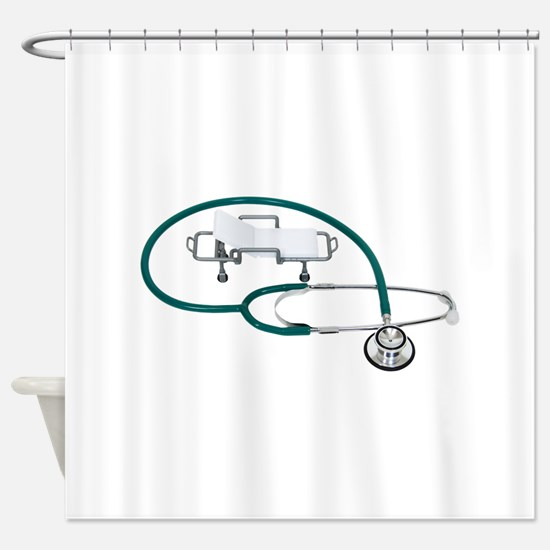 HospitalCare030609 copy.png Shower Curtain