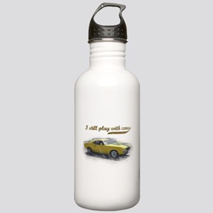 I still play with cars Stainless Water Bottle 1.0L