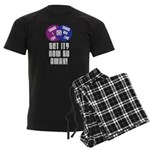 More Snark Men's Dark Pajamas