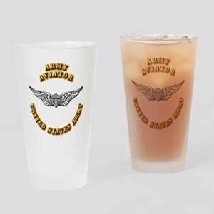 Army - Army Aviator Drinking Glass