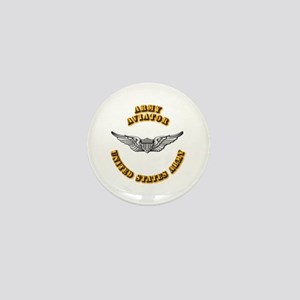 Army - Army Aviator Mini Button