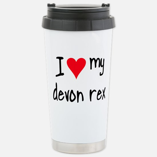 I LOVE MY Devon Rex Mugs