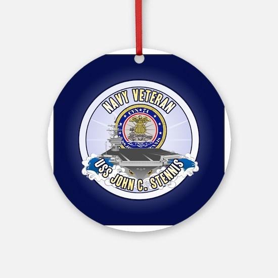 CVN-74 USS Stennis Ornament (Round)