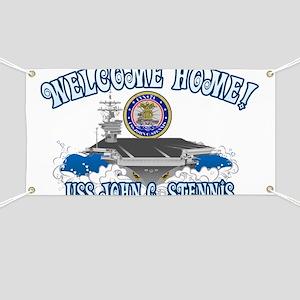 Welcome USS Stennis! Banner