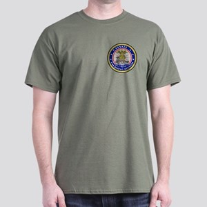 2-Sided USS Stennis Dark T-Shirt