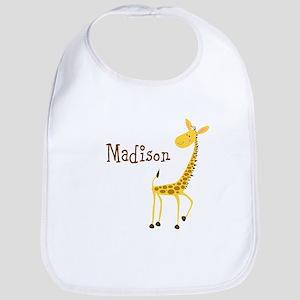 Custom Name Giraffe Bib