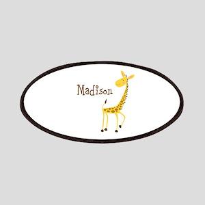 Custom Name Giraffe Patches