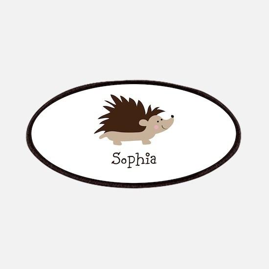 Custom Name Hedgehog Patches