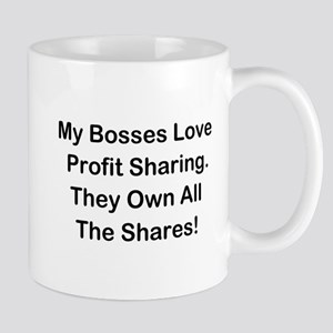 My Bosses Love Sharing Mug