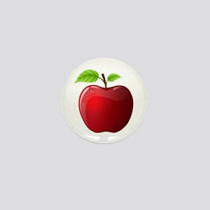 Teachers Apple Mini Button