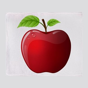 Teachers Apple Throw Blanket