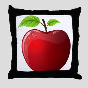 Teachers Apple Throw Pillow