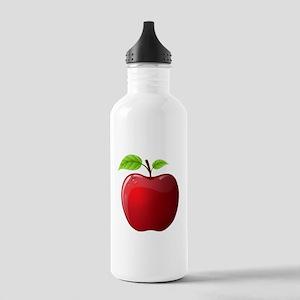 Teachers Apple Stainless Water Bottle 1.0L