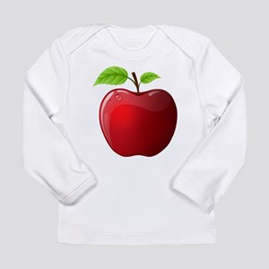 Teachers Apple Long Sleeve Infant T-Shirt