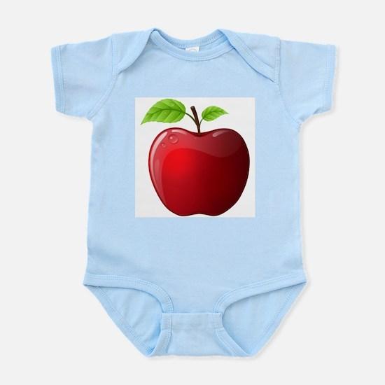 Teachers Apple Infant Bodysuit