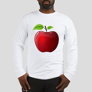 Teachers Apple Long Sleeve T-Shirt