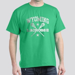 Wyoming Lacrosse Dark T-Shirt