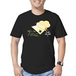 That's How I Rolling Pin. Men's Fitted T-Shirt (da