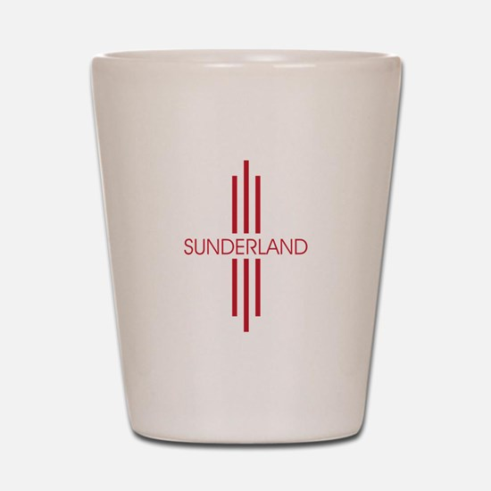 SUNDERLAND STRIPES Shot Glass