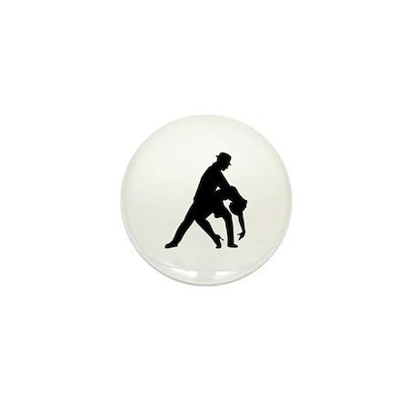 Dancing couple tango Mini Button (10 pack)