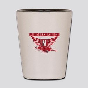 MIDDLEBROUGH WINGS Shot Glass