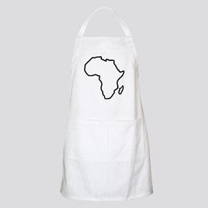 Africa map Apron