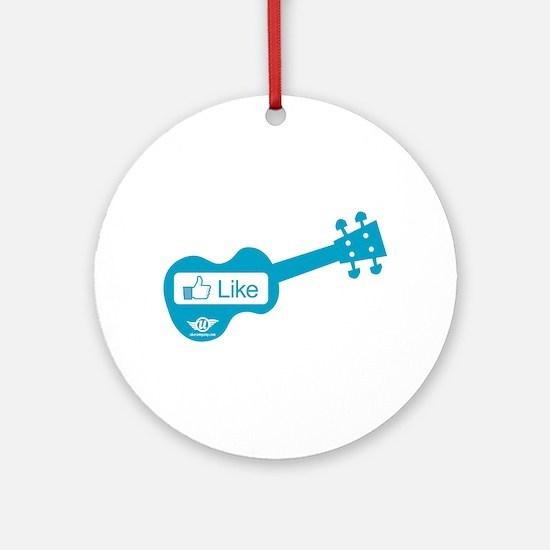 Like Uke Ornament (Round)