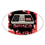 Gaming Sticker (Oval 50 pk)