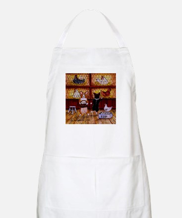 All Cooped Up BBQ Apron