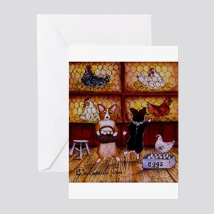 All Cooped Up Greeting Cards (Pk of 10)