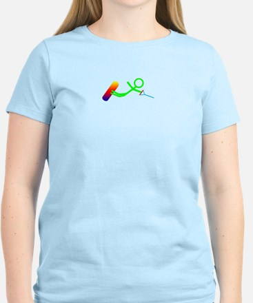 Wakeboarder Closeup Color T-Shirt