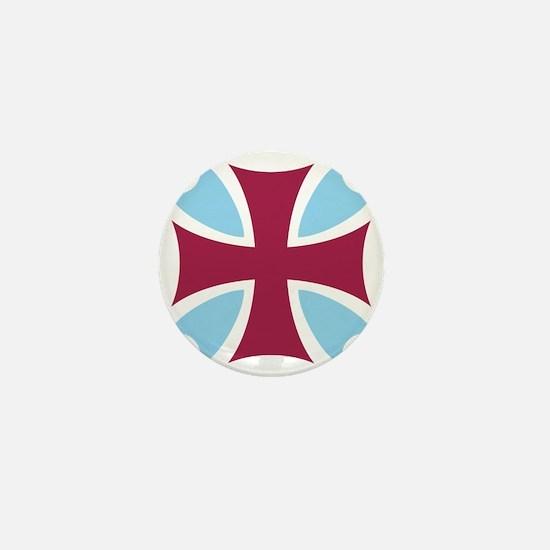 Templar Cross Mini Button