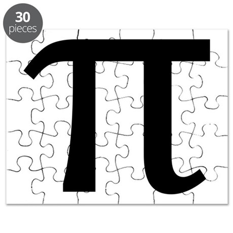 Math Geek Nerd Pi Puzzle
