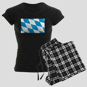 Flag of Bavaria Women's Dark Pajamas
