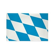 Flag of Bavaria Rectangle Magnet