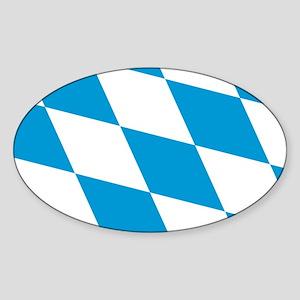 Flag of Bavaria Sticker (Oval)
