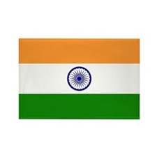 Flag of India Rectangle Magnet