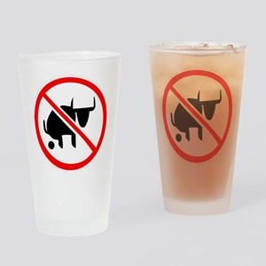 No BS Drinking Glass