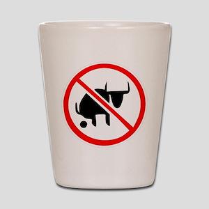 No BS Shot Glass