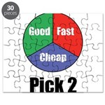Good, Fast, Cheap Puzzle