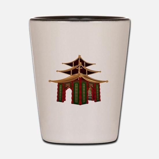 Temple Shot Glass