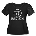Pi: Irrational But Well Rounded Women's Plus Size
