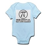 Pi: Irrational But Well Rounded Infant Bodysuit